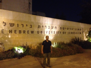 Attended a lecture in Hebrew University