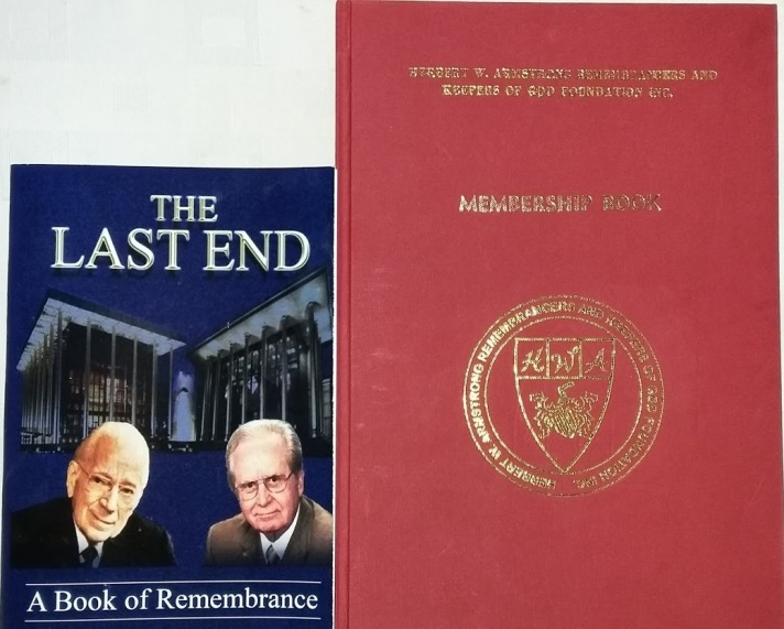 Book of Remembrance and ARK of God Foundation