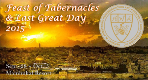 Feast of Tabernacles 2015 Mambukal