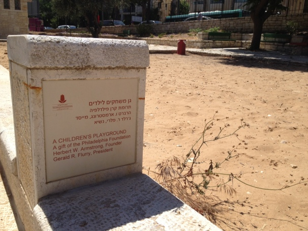 A Childrens Playground - Liberty Bell Park in Jerusalem
