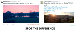 Edstone and Jerusalem - SPOT the difference 13 June 2015