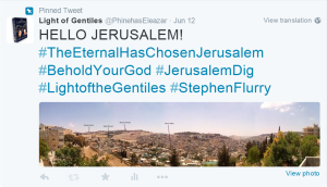 Hello Jerusalem 12 June 2015