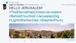 Hello Jerusalem 12 June 2015