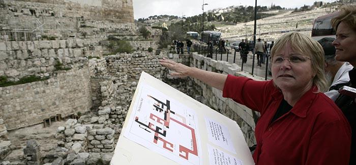 Archeologist Dr. Eilat Mazar