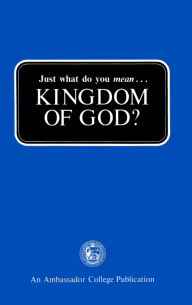 Just What Do You Mean... Kingdom of God