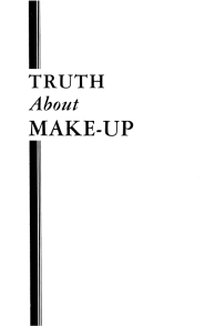 Truth About Make-up