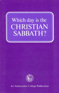 Which Day is the Christian Sabbath