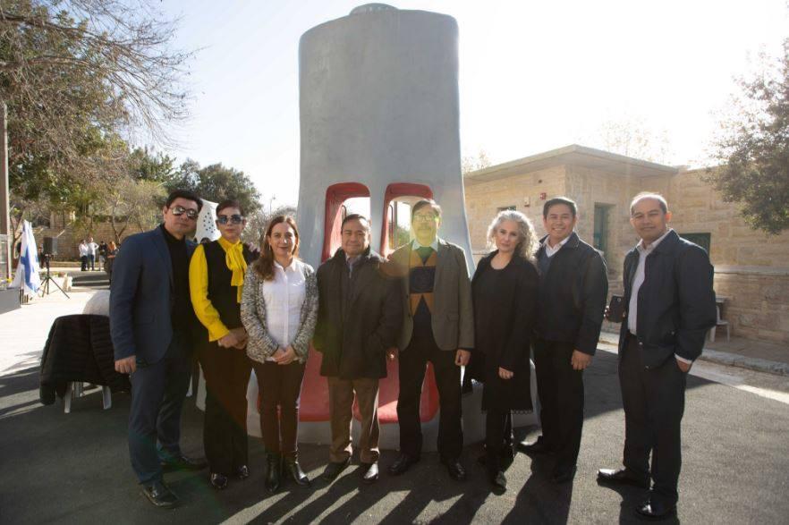 With Jerusalem Foundation Staff