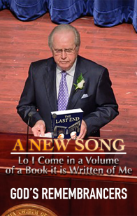 A New Song - Lo I Come in a Volume of a Book it is Written of Me