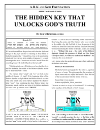 A0004 The Hidden Key that Unlocks God's Truth